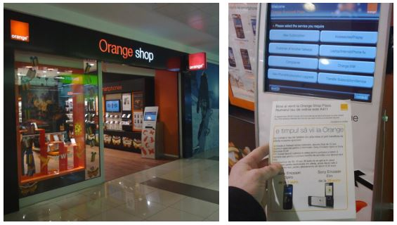 orange mobile shop