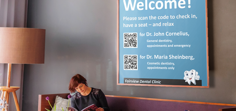 improving customer experience with QR codes